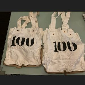 2 Feed The Children Of The World 100 Tote Bag